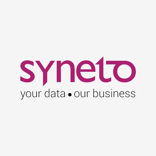 syneto logo with motto